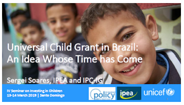 Portada Towards a universal child benefit