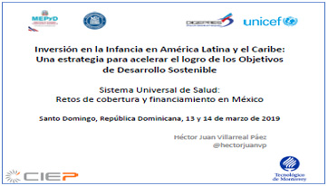 Portada Universal health system: coverage and financing challenges in Mexico