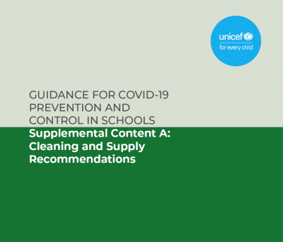 Supplemental Content A: Cleaning and Supply Recommendations