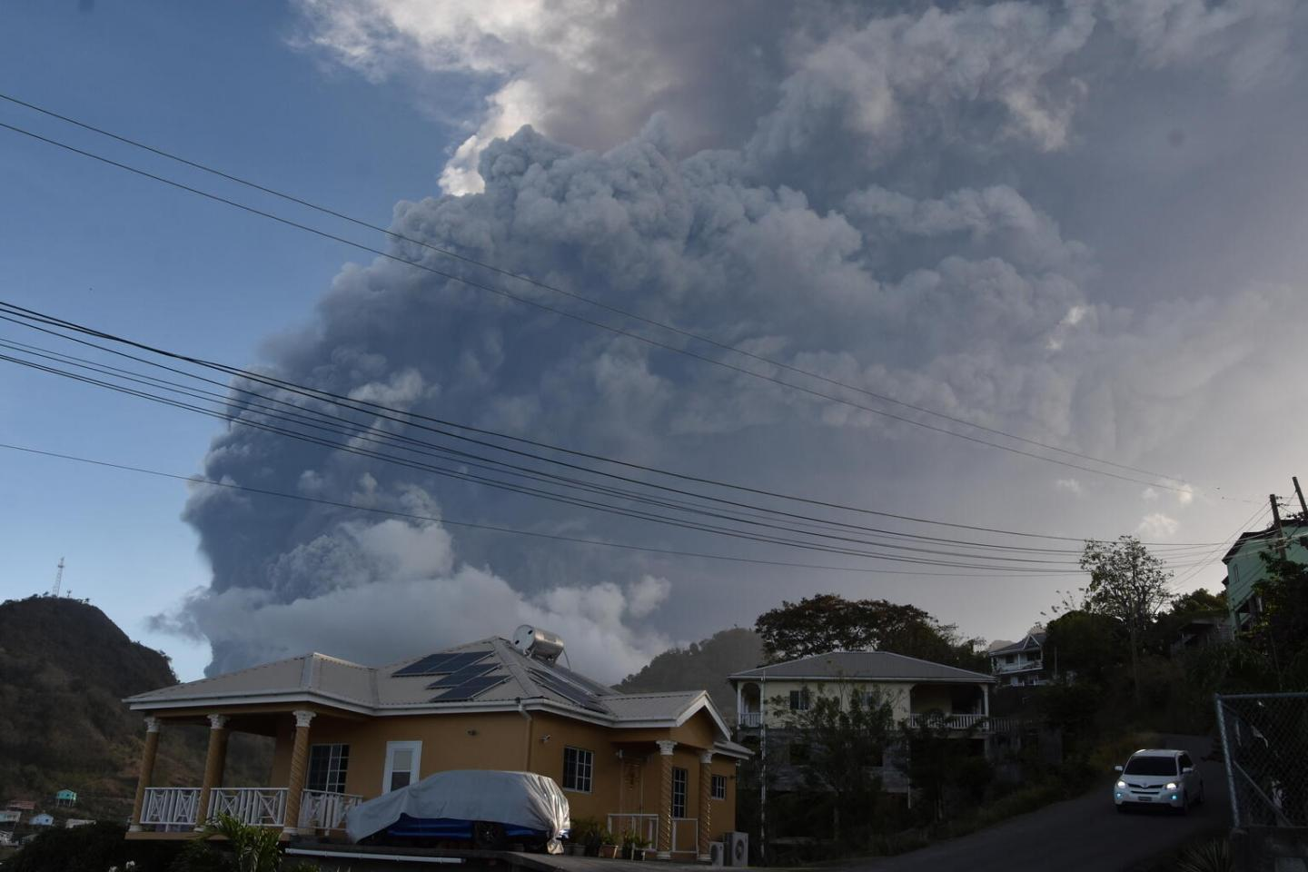 Education on hold in Saint Vincent as fallout from volcano continues