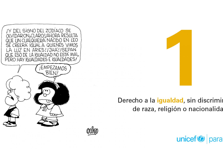 10 Derechos Fundamentales De Los Niños Por Quino Unicef