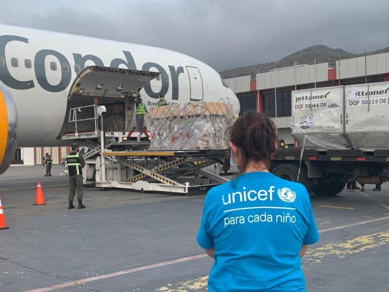 UN humanitarian flight arrives in Venezuela with supplies
