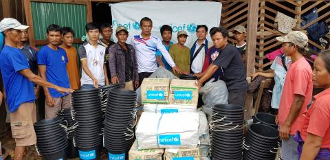 UNICEF and the Lao Government Step Up Emergency Response to Address the Needs of Children