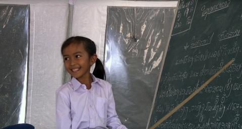 Go back to school after flood in Lao PDR