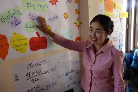 Ms. Souliya expresses her wish for the future of Lao children.