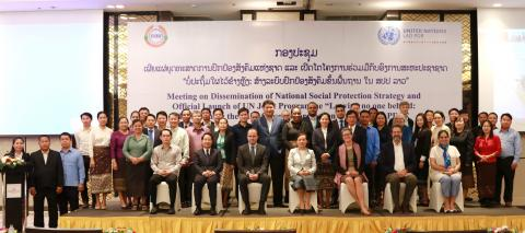Inauguration of the National Social Protection Strategy 2025 and Launch of a new programme to strengthen social protection in Lao PDR