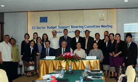 EU, MoES and UNICEF Join Hands to Improve Basic Education in Lao PDR