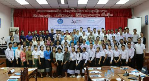 Youth Consultation in Savannakhet province, Lao PDR