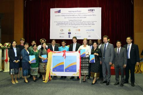 The Lao Social Indicator Survey (LSIS-II) launch