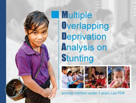 Multiple Overlapping Deprivation Analysis (MODA) on Stunting among children under 5 years in Lao PDR