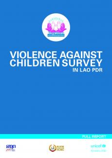 Violence against Children Survey in Lao PDR Cover