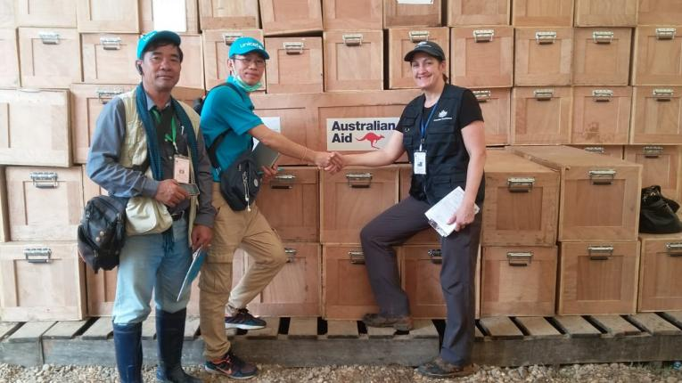 The Australian Government Supports UNICEF's Emergency Response to Floods in Laos