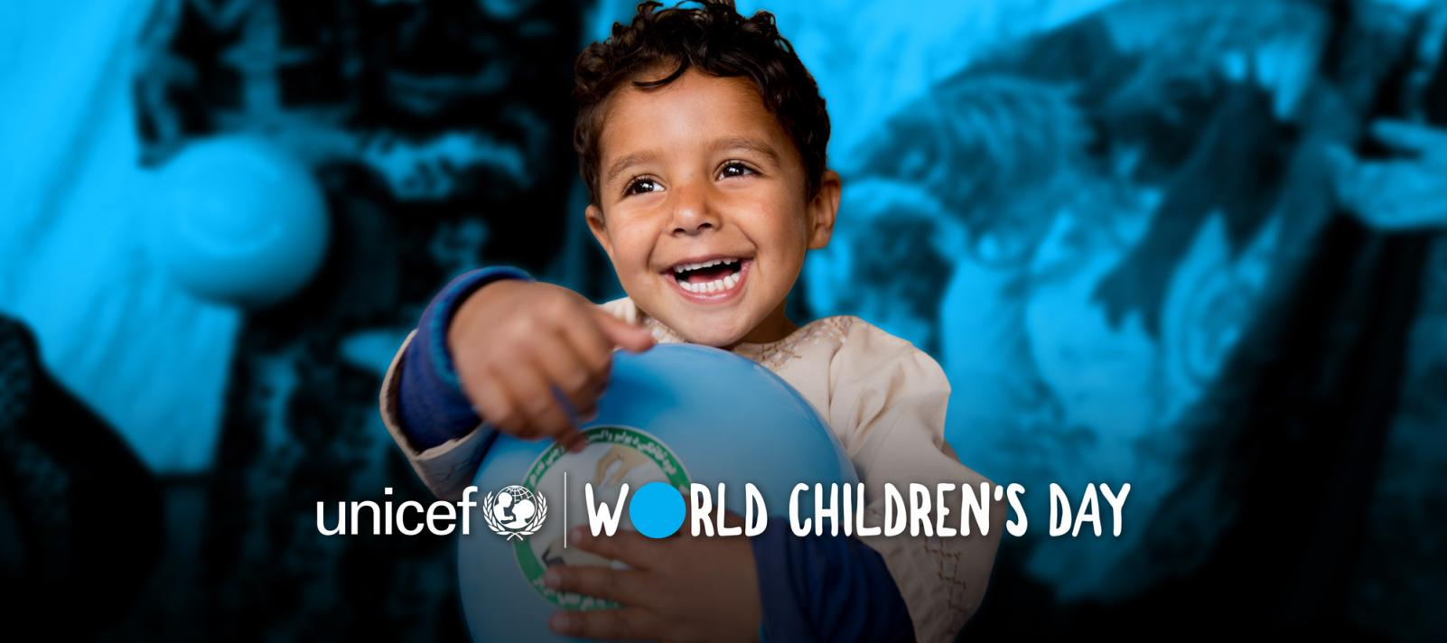 World Children Day Banner