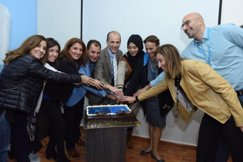 Generation of inovation staff while cutting the cake