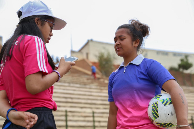 Girls can fight for their dreams through football | UNICEF Madagascar