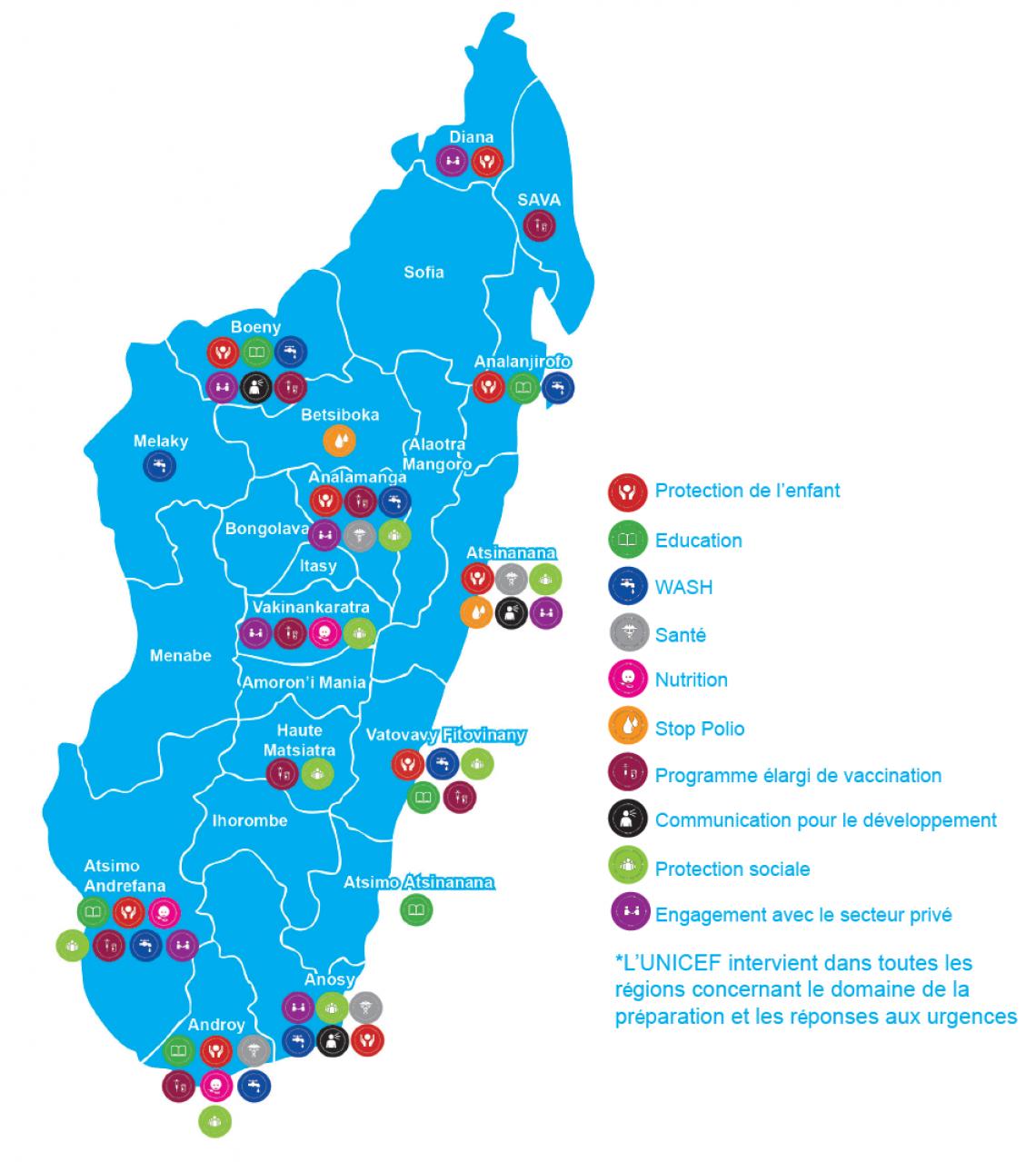 Carte De Madagascar Png.What We Do Unicef Madagascar