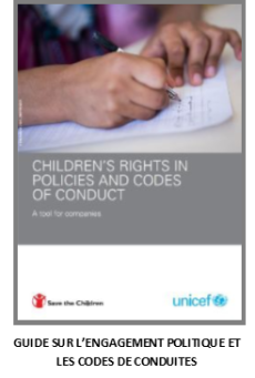 Children's rights in policies and codes of conduct