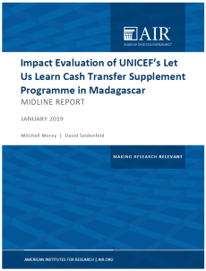 LUL midline report cover