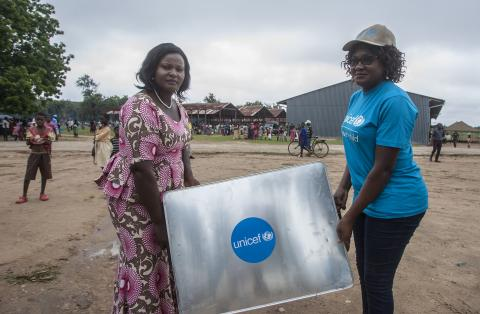 UNICEF donates recreational kits for children to Bangula Camp in Nsanje