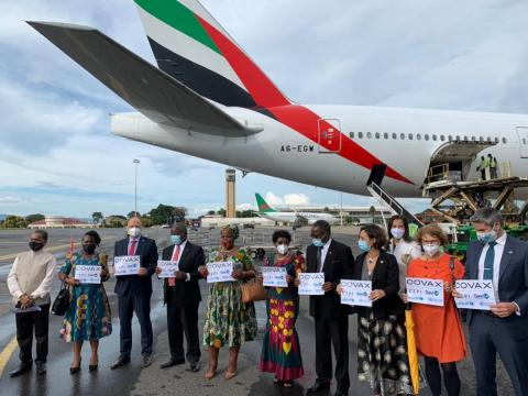 Malawi receives first shipment of COVID-19 vaccines from COVAX