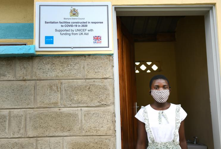 12-year-old Ana Kanyoza is seen at the Blantyre Emergency Treatment Unit in Kameza, Malawi on Monday 9 February 2021