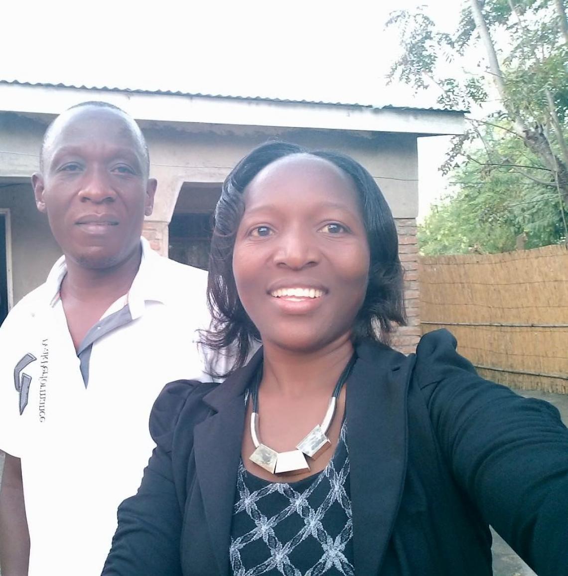 Wongani's parents