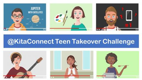 Teen takeover graphic