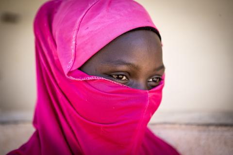 Tenin Ballo (not his real name), 15, escaped early marriage thanks to the intervention of her school principal.