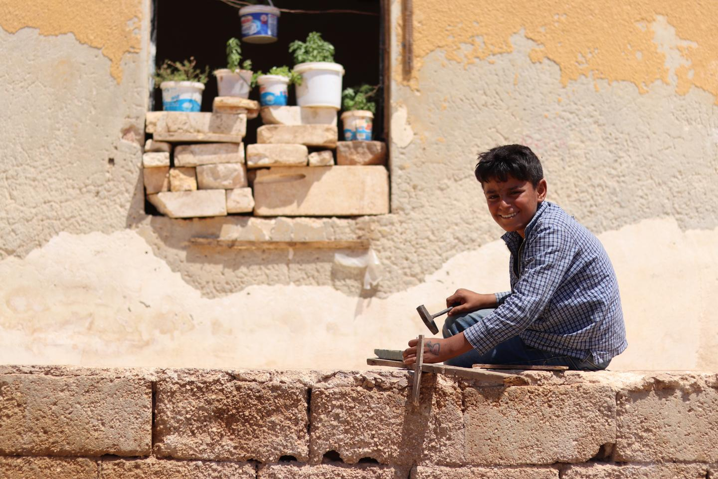 Abdulkareem: A story of loss and strength | UNICEF Middle East and North Africa
