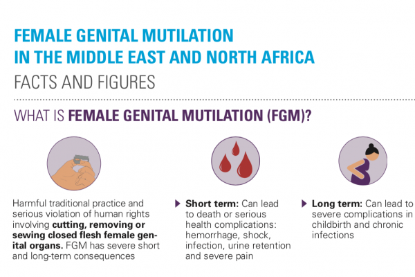Facts And Figures Female Genital Mutilation In The Middle East And North Africa Unicef Middle East And North Africa