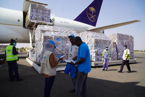 UNICEF airlifts its biggest PPE shipment to help Sudan contain COVID-19 outbreak