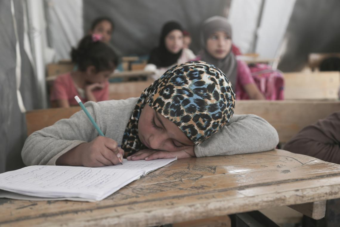 Determination Overcomes the Strain of Conflict | UNICEF Middle East and North Africa