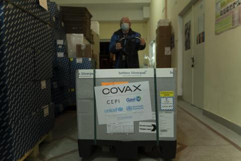 COVAX 3rd delivery to Moldova