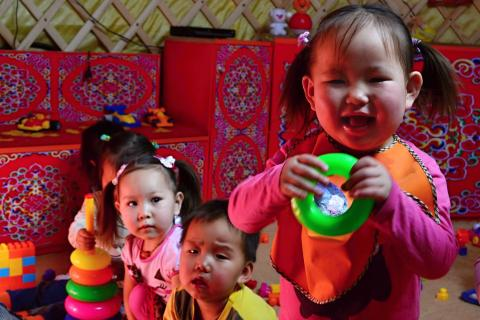 Thanks to ger kindergarten, additional 20 children can access early childhood education.