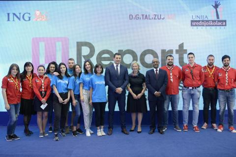 U-Report launching in Montenegro