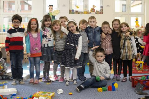 Children in the preschool