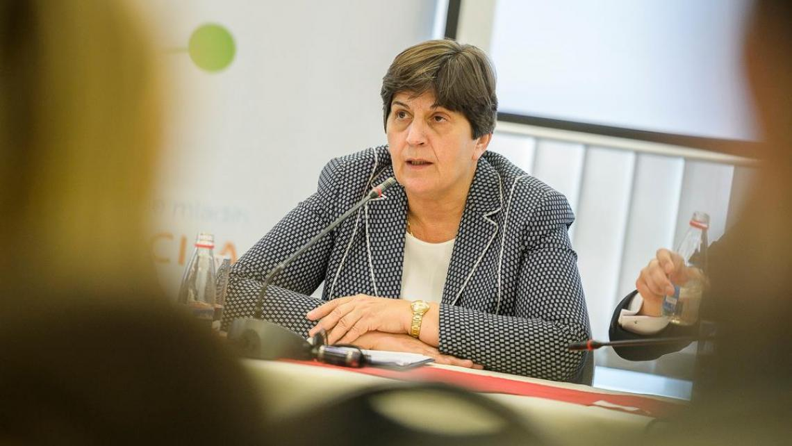 Minister of Labour and Social Welfare Zorica Kovacevic