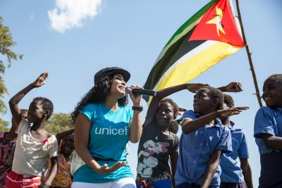 Embaixadora do UNICEF Moçambique Neyma