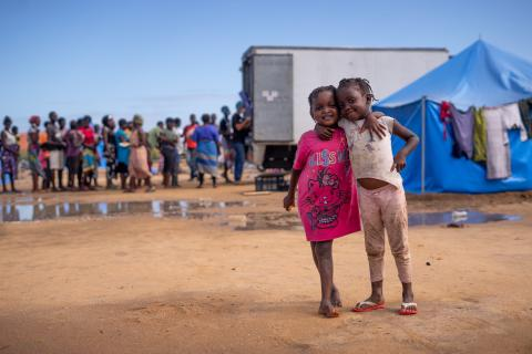 UNICEF supports children affected by Cyclone Idai in Mozambique