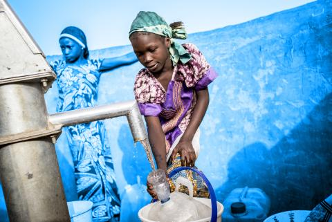 117 million people living through conflict and disaster lack access to safe water