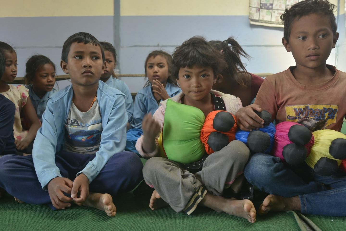 Borne of willpower and heart   UNICEF Nepal