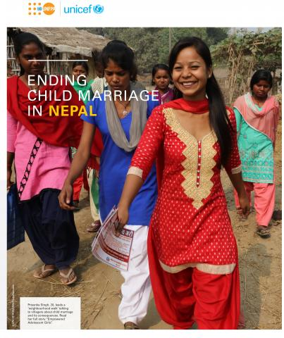 ENDING CHILD MARRIAGE IN NEPAL