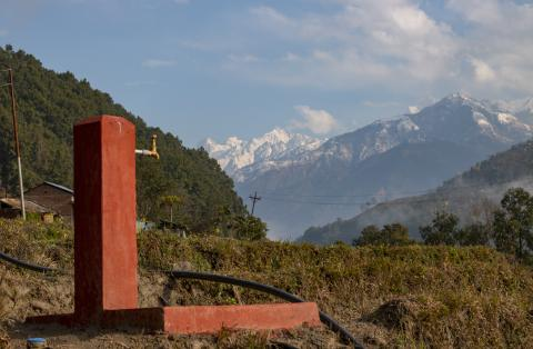 Water tap in Gorkha