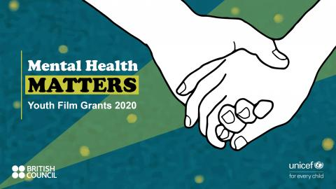 This image shows a poster of the Mental Health Matters Youth Film Grants 2020