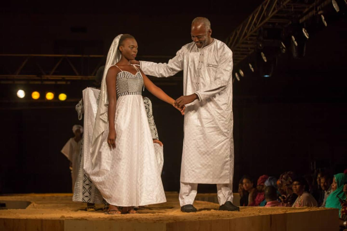 The Fashion Designer Alphadi Lends His Talents To Promote Child Rights In Niger