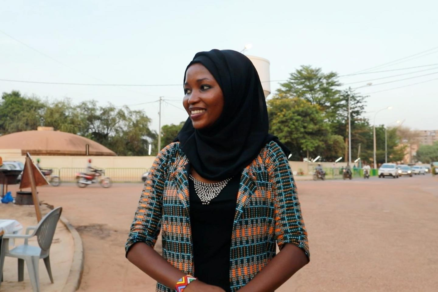 Girls take over in #Niger