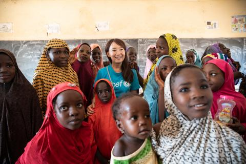 UNICEF Goodwill Ambassador for Japan Agnes Chan reflects on her trip to Niger