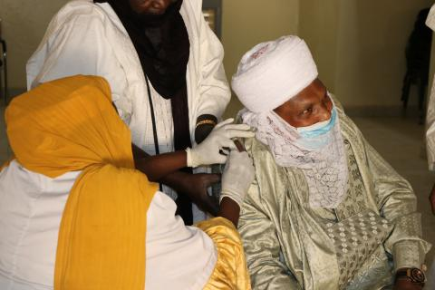 Building trust in Covid-19 vaccine in Niger