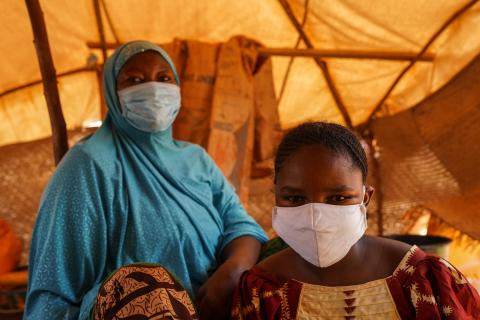 Before the pandemic, already 3 million people - more than half children in Niger - were in need of humanitarian assistance in Niger.