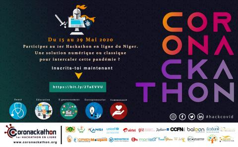 Niger launched an online hackathon to figure out ways to help communities during the COVID-19 pandemic.